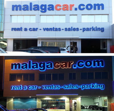 Malaga car hire office
