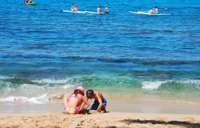 Malaga beaches - family holidays