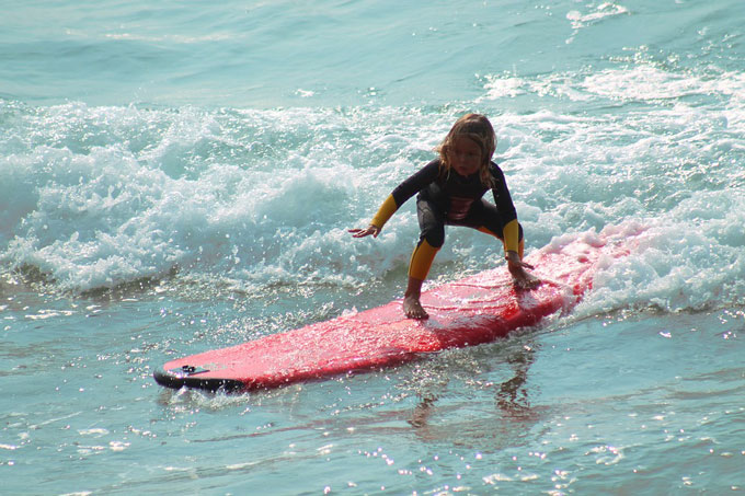 Malaga beaches - surfing and watersports