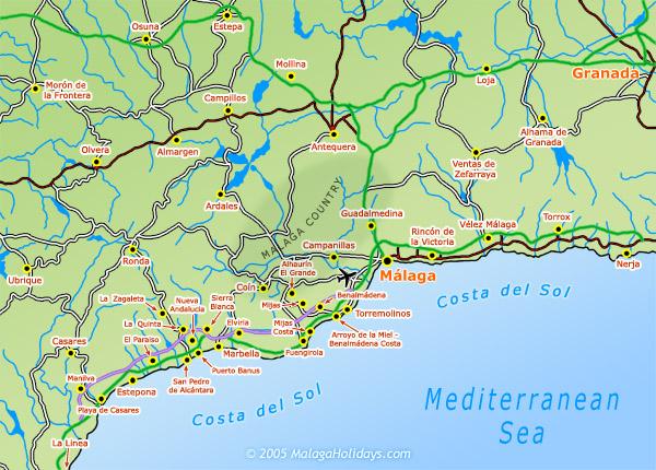 Costa del Sol Malaga Spain