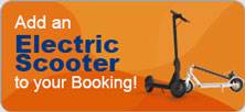 Add an Electric Scooter to your Booking!