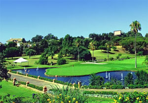 Santa Clara Golf Course In Malaga Golf In Costa Del Sol