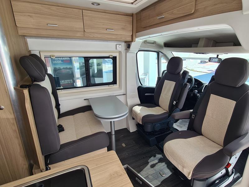 Fiat Ducato Maxi Camper Interior