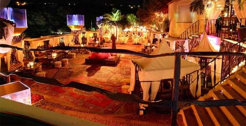 Luxury disco in Marbella