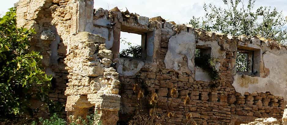 House in ruins