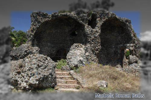 Marbella roman hot baths photo