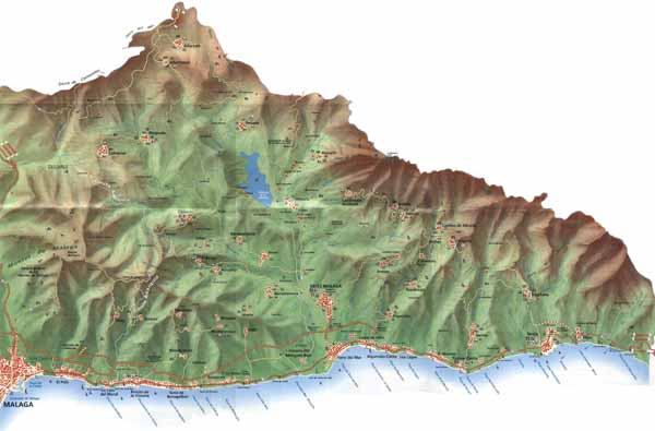 axarquia map