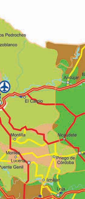 Cordova Province Map