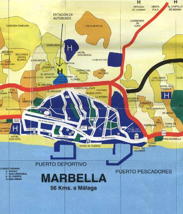 Costa Del Sol Map 10