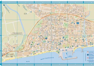 ... of the Fuengirola map to ...