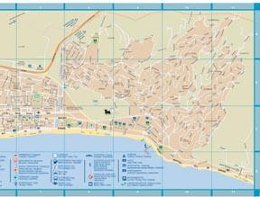Map of Fuengirola Malaga