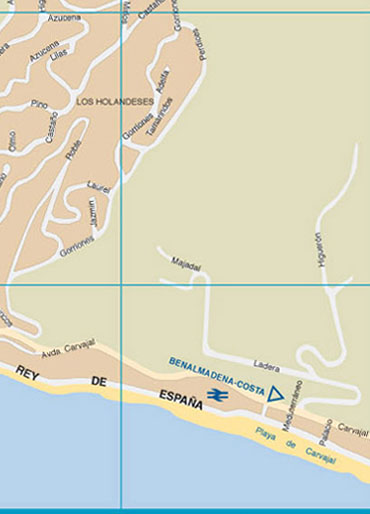 Map Of Fuengirola Zone 12 Fuengirola Maps