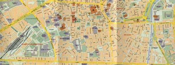 Mapa De Sevilla Capital Callejero.Mapa Callejero De Granada Centro