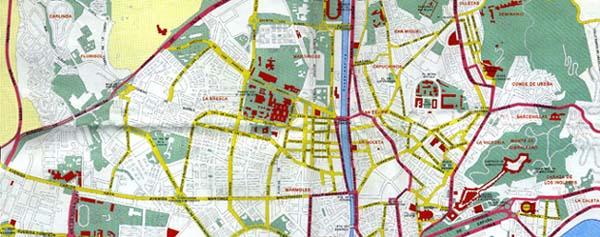 Mapa Callejero De Malaga.Callejero Malaga Callejero De Malaga Informacion De Malaga