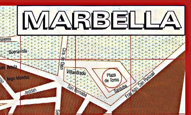 Map of Marbella - Zone 3