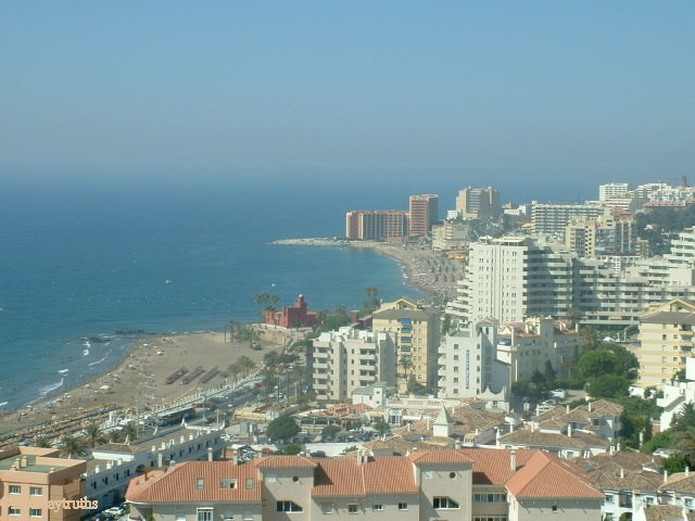 landscapes of benalmadena, city sights