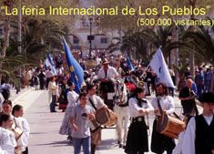 fuengirola international fair, Feria de los pueblos