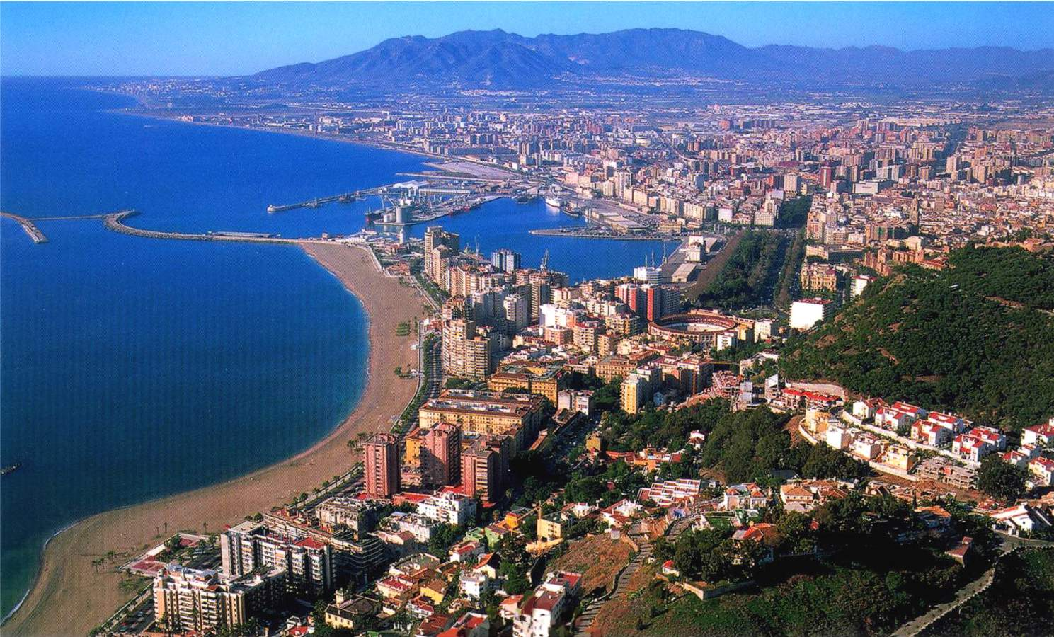 panoramic views of malaga