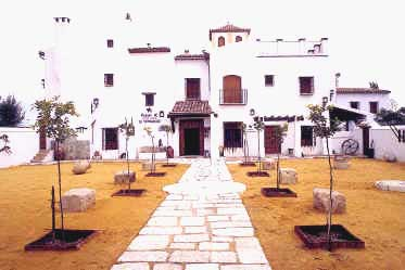 alameda church malaga villages andalusia spain