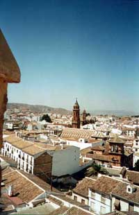 antequera cathedral malaga villages andalusia spain