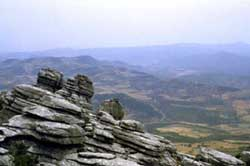 el torcal national park antequera malaga villages andalusia spain