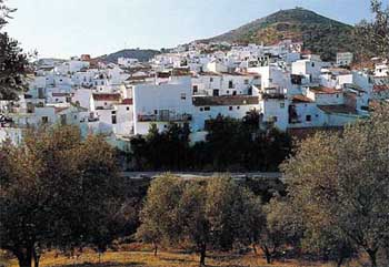 arena sights malaga villages andalusia spain