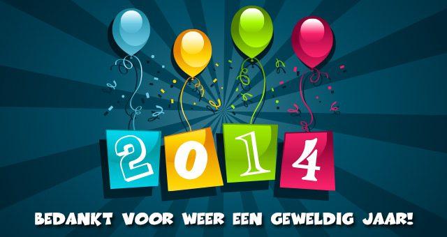 Bedankt voor weer een geweldig jaar!