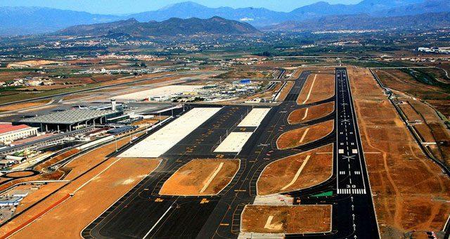 Landingsbaan Luchthaven Malaga