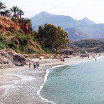 Playa de Burriana, Nerja