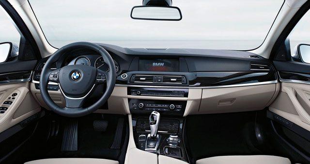 Interior del BMW serie 5