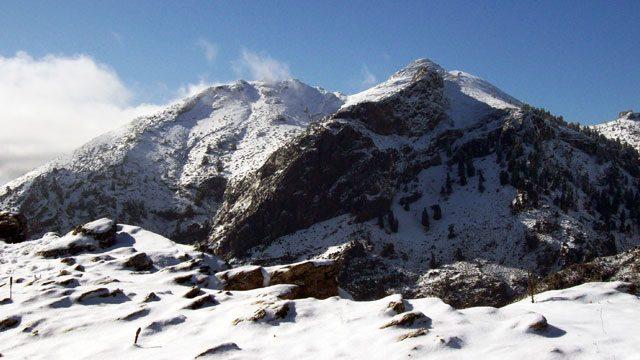Nieve en Pico Torrecilla