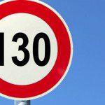 130 km/h