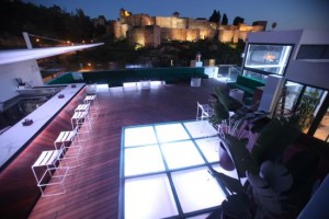 alcazaba-premium-hostel terraza de la alcazaba