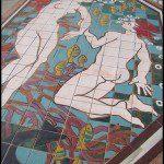 Mural en el suelo