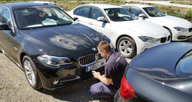matriculando coches