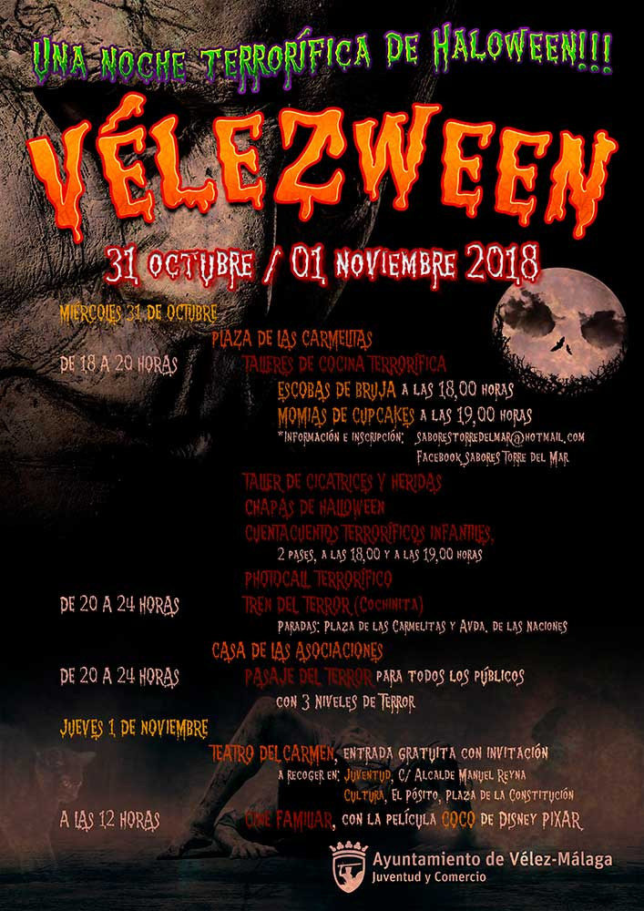 Halloween Vélez-Málaga