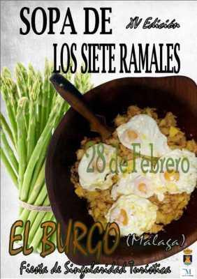 Sopa siete Ramales El Burgo