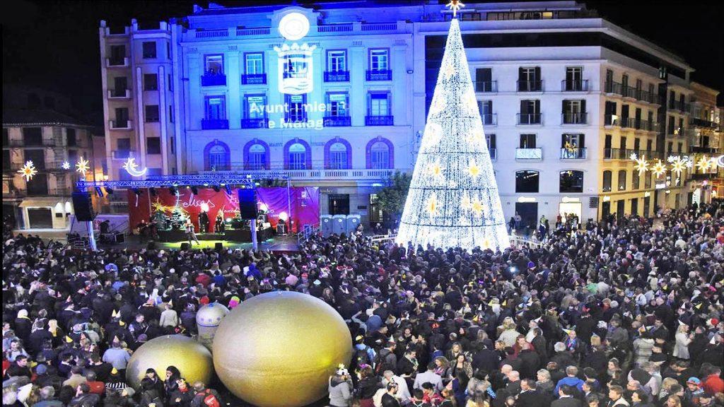 Campanadas de Fin de Año en Málaga