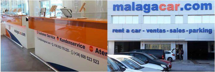 Alquilar un coche en el aeropuerto de Málaga Malagacar.com