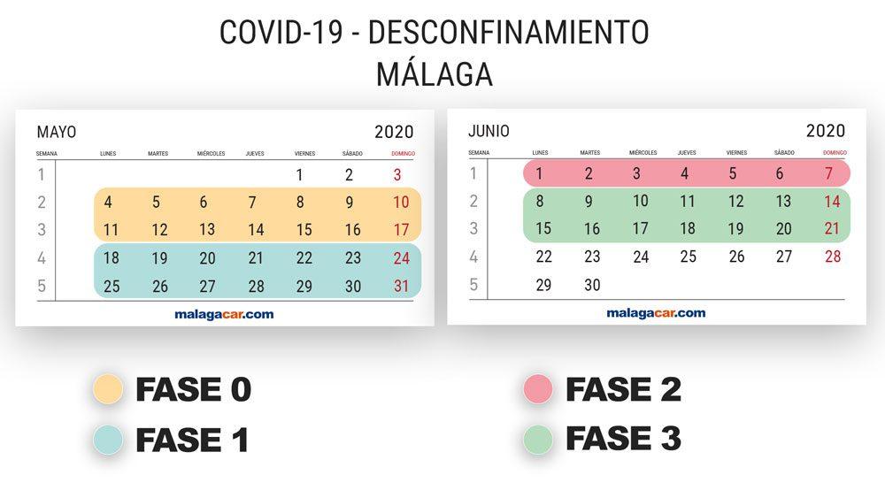 calendario desescalada