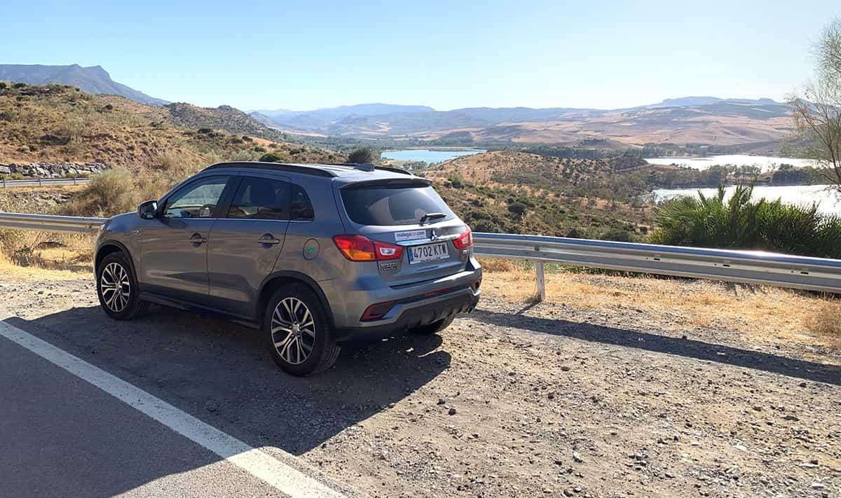 Visitando El Chorro en Málaga en coche
